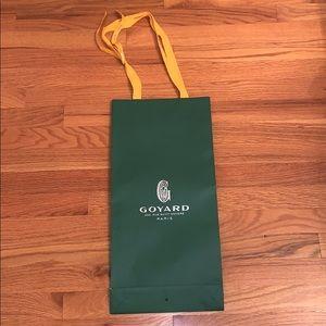 Authentic Goyard shopping bag